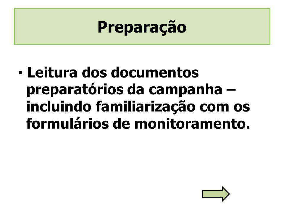 Preparação Leitura dos documentos
