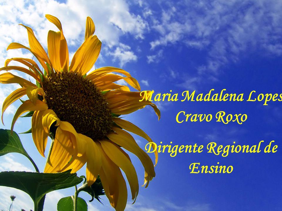 Maria Madalena Lopes Cravo Roxo Dirigente Regional de Ensino