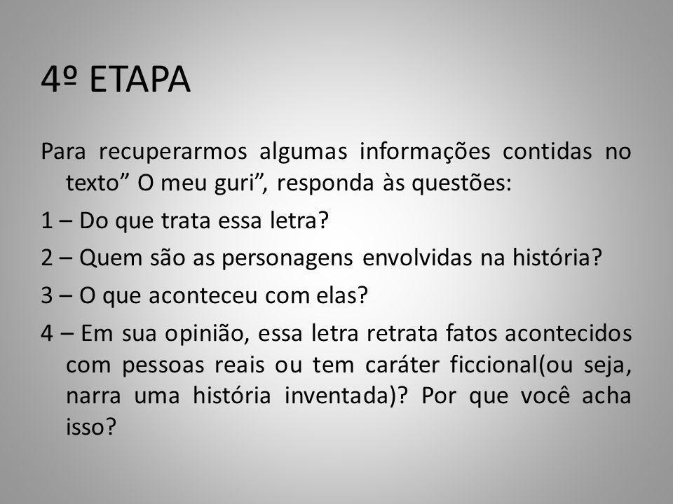 4º ETAPA