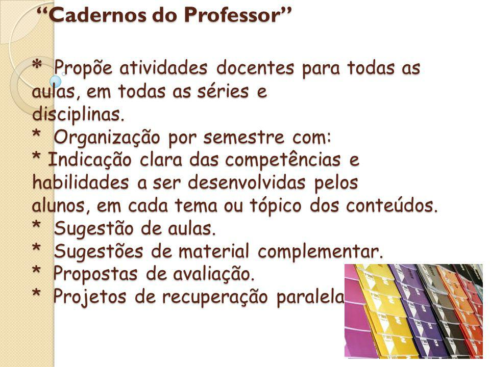 Cadernos do Professor