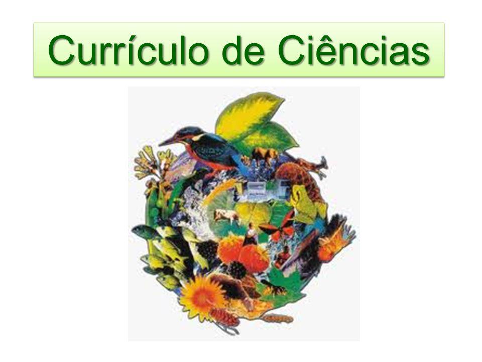Currículo de Ciências