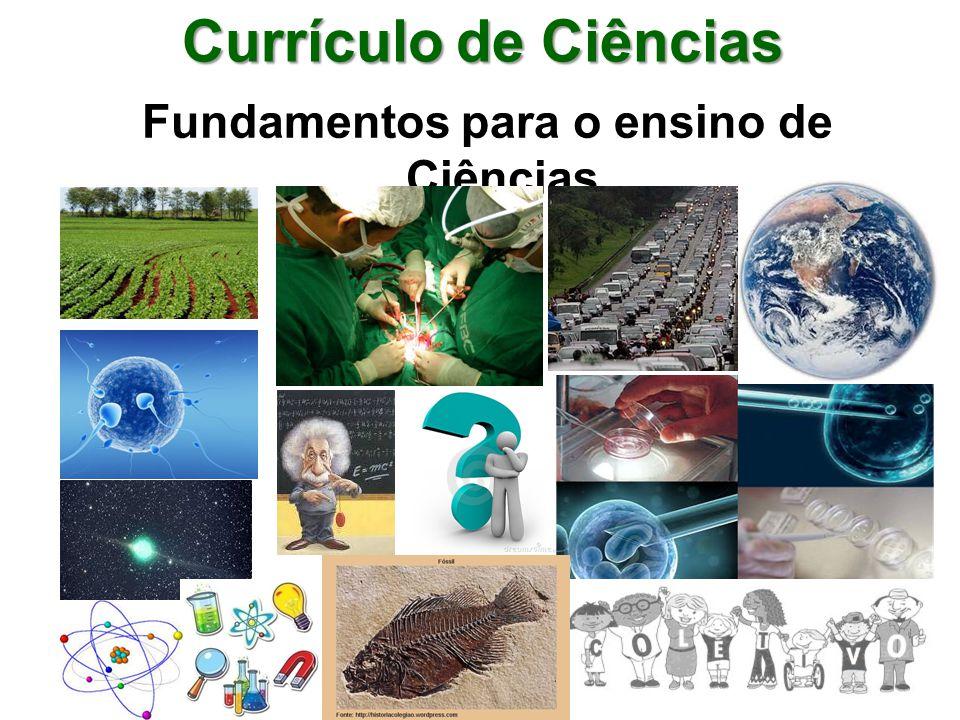 Fundamentos para o ensino de Ciências