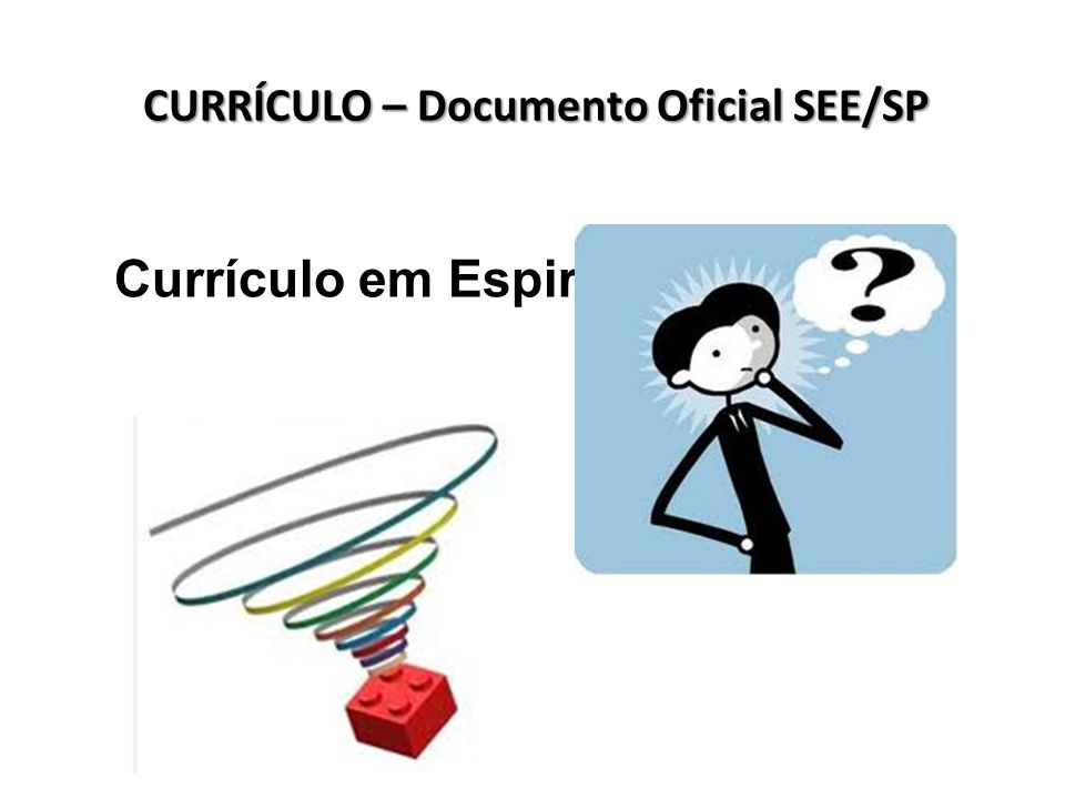 CURRÍCULO – Documento Oficial SEE/SP