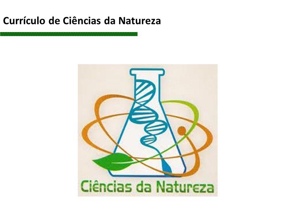 Currículo de Ciências da Natureza