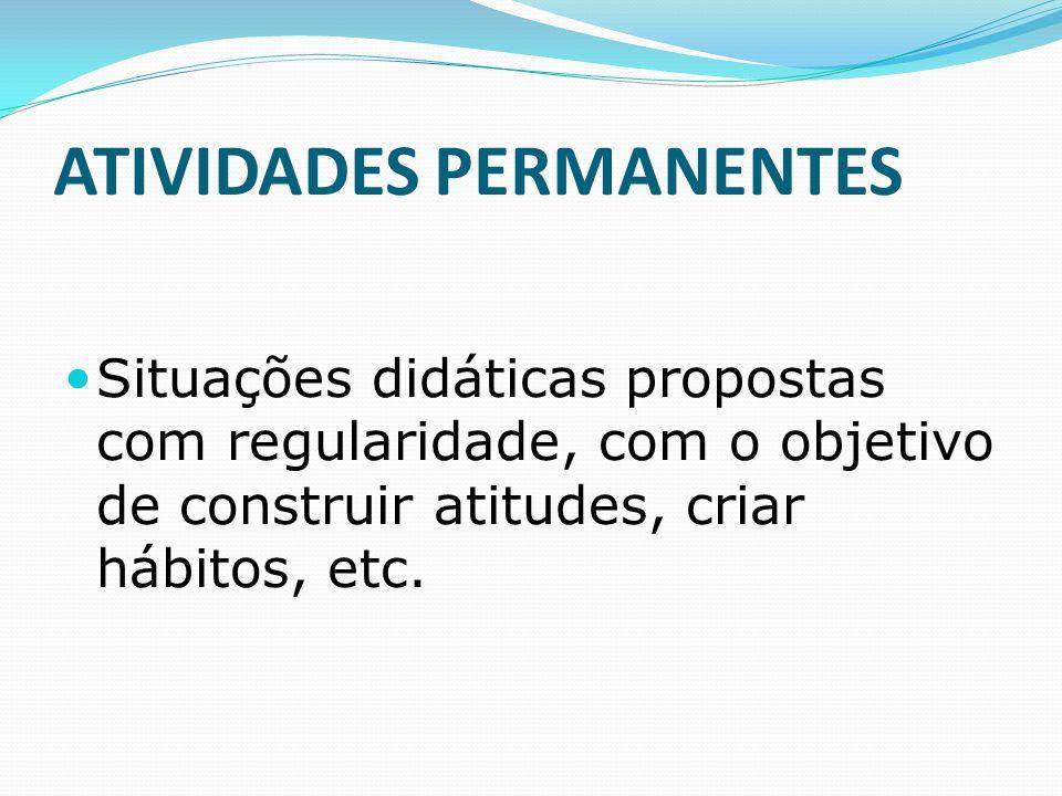 ATIVIDADES PERMANENTES