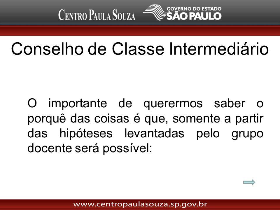 Conselho de Classe Intermediário