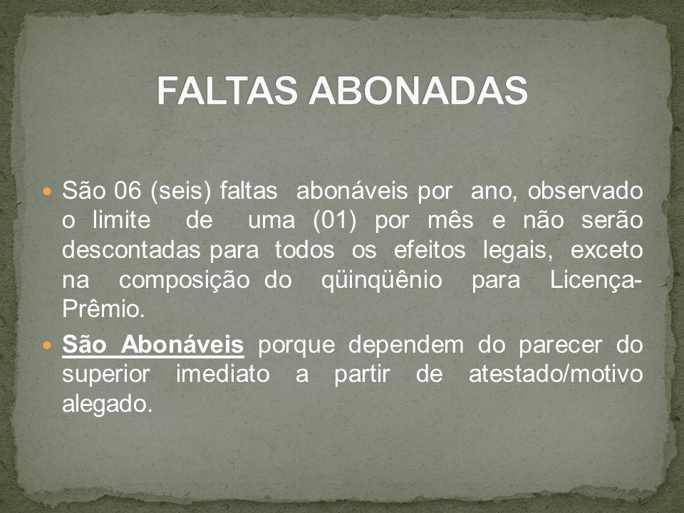 FALTAS ABONADAS
