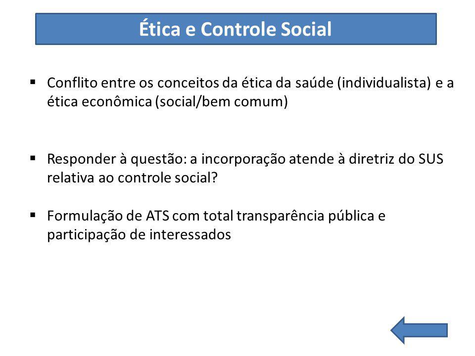 Ética e Controle Social
