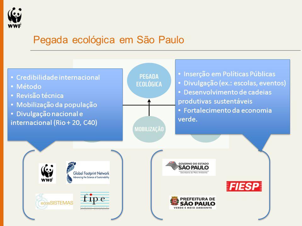 Pegada ecológica em São Paulo