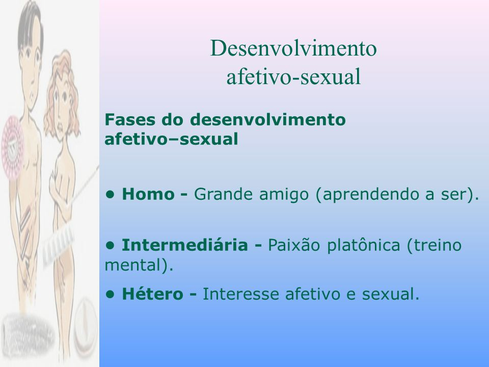 Desenvolvimento afetivo-sexual