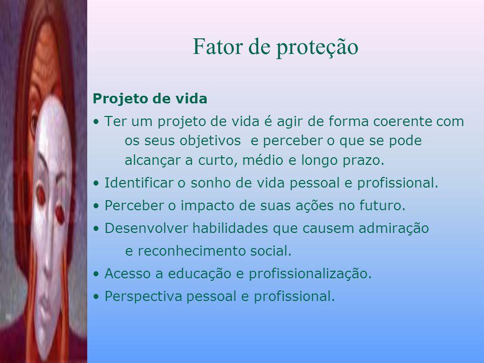 Fator de proteção Projeto de vida