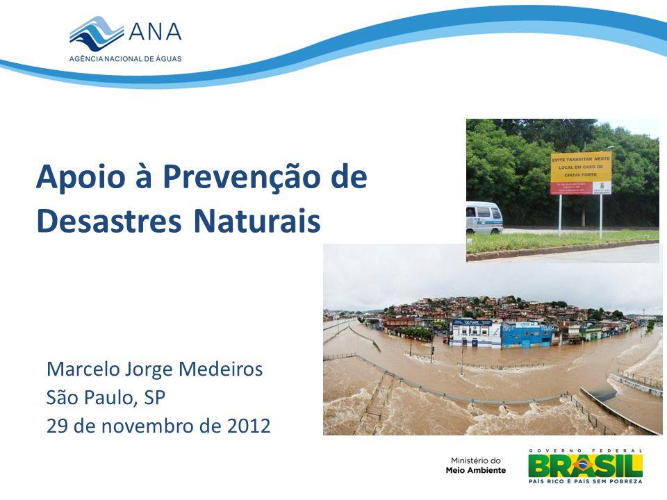Apoio à Prevenção de Desastres Naturais