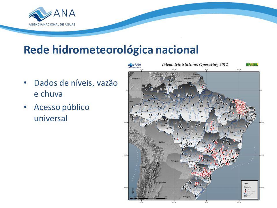 Rede hidrometeorológica nacional