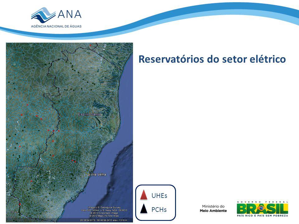 Reservatórios do setor elétrico
