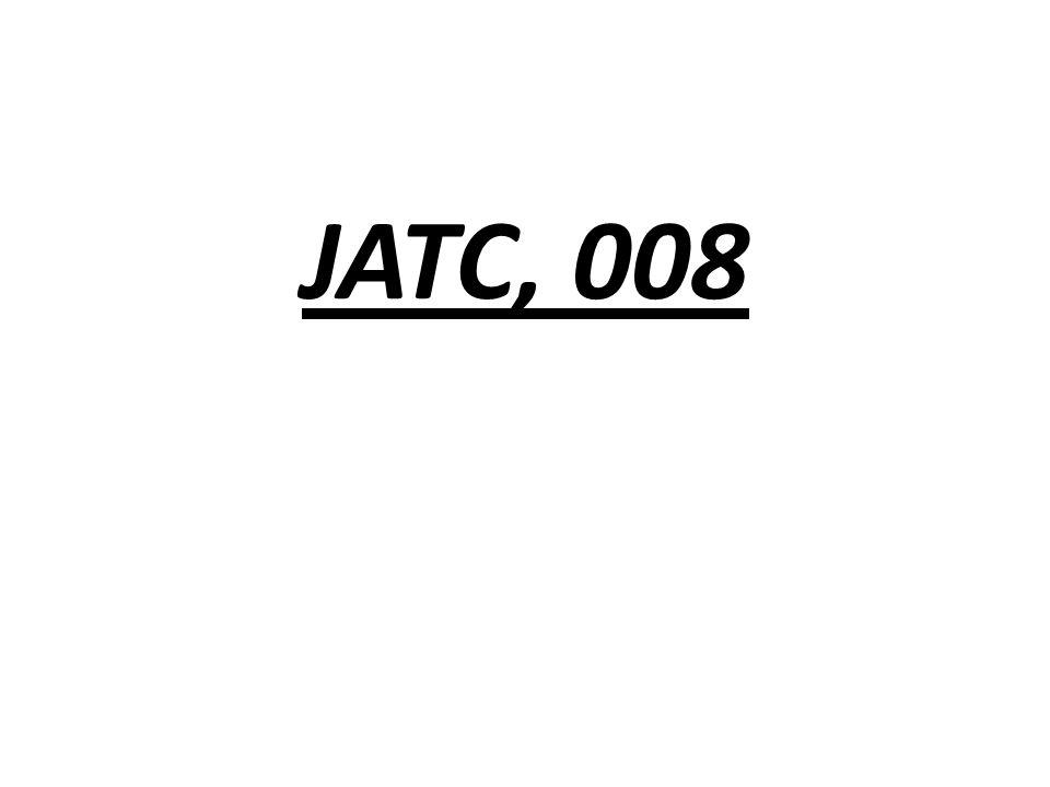 JATC, 008
