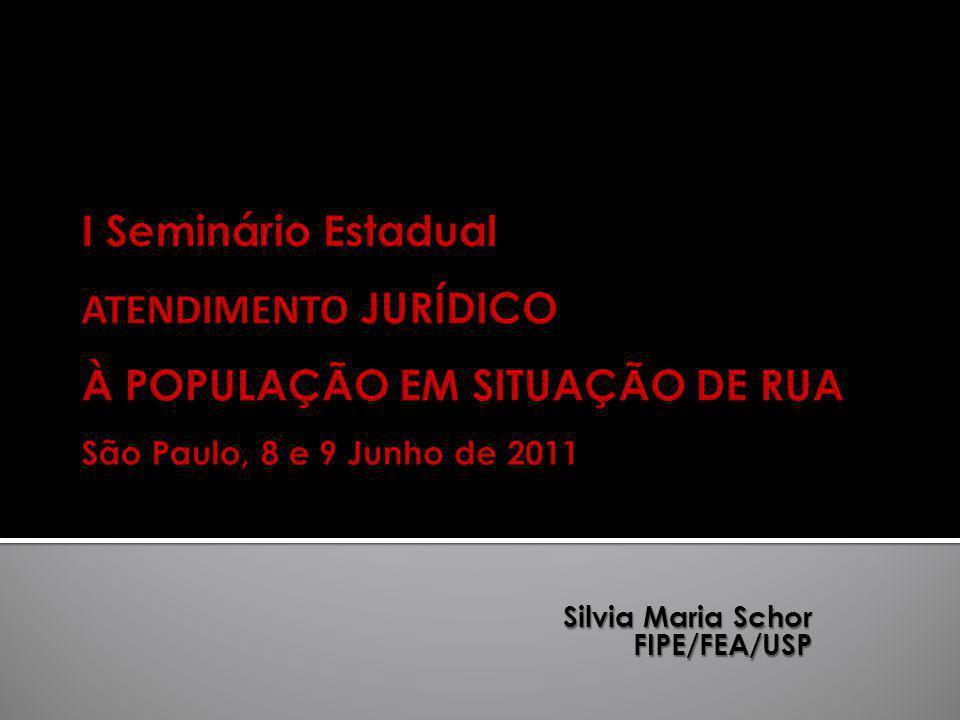 Silvia Maria Schor FIPE/FEA/USP