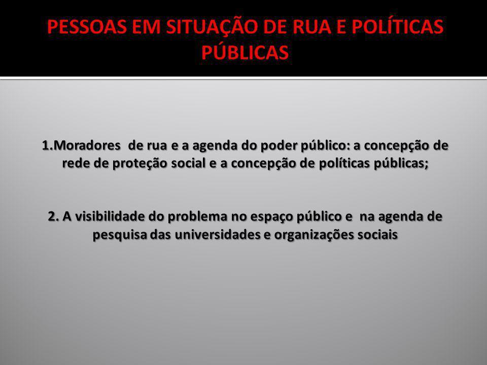 PESSOAS EM SITUAÇÃO DE RUA E POLÍTICAS PÚBLICAS 1