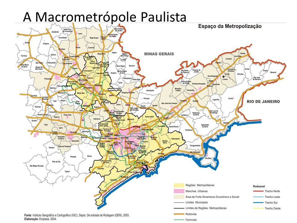 A Macrometrópole Paulista