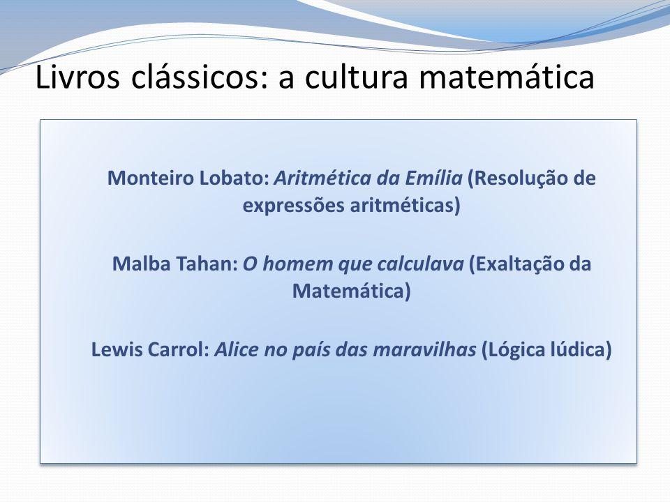 Livros clássicos: a cultura matemática