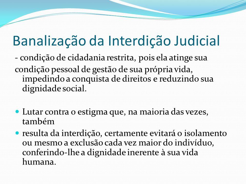 Banalização da Interdição Judicial