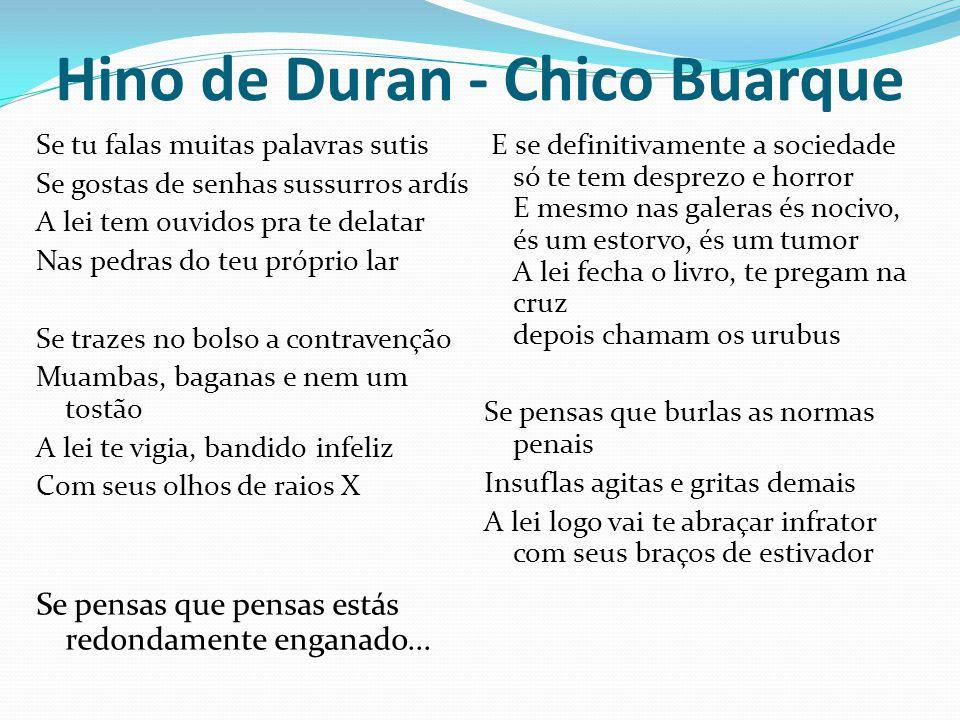 Hino de Duran - Chico Buarque