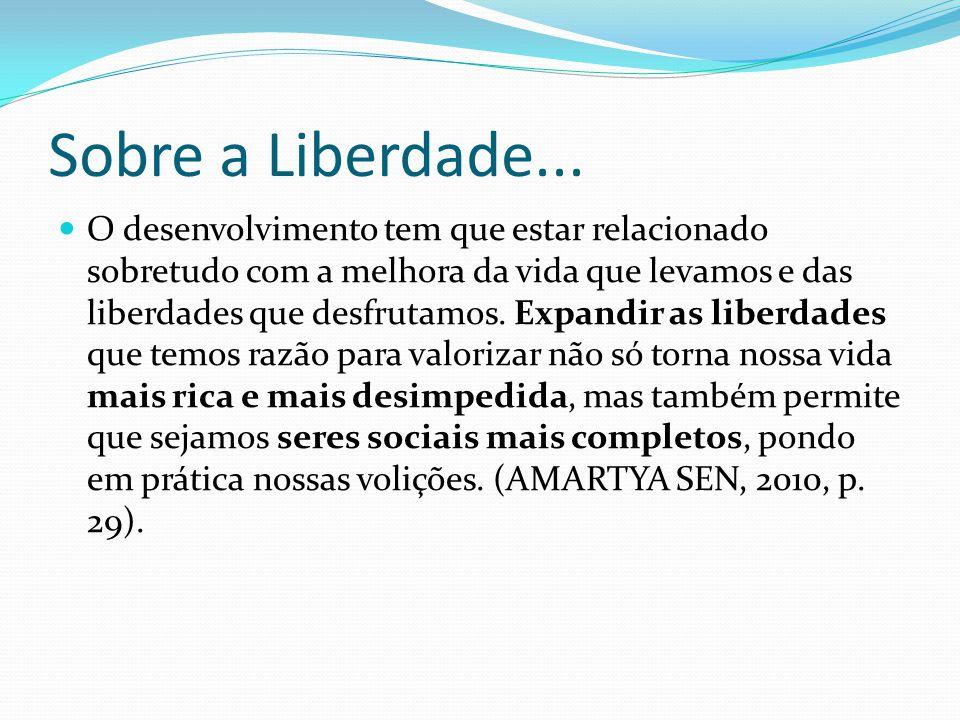 Sobre a Liberdade...
