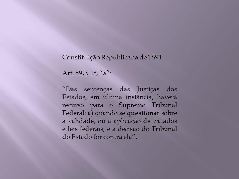 Constituição Republicana de 1891:
