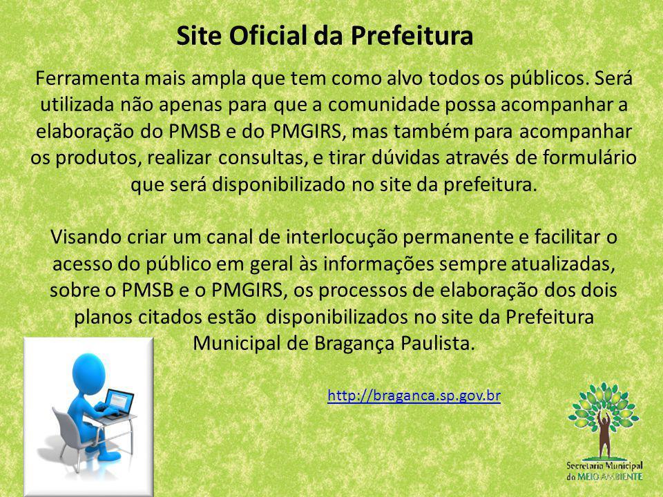 Site Oficial da Prefeitura