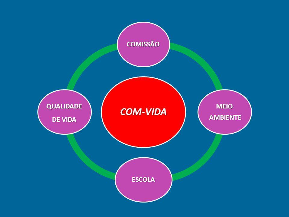 COM-VIDA COMISSÃO AMBIENTE MEIO ESCOLA QUALIDADE DE VIDA