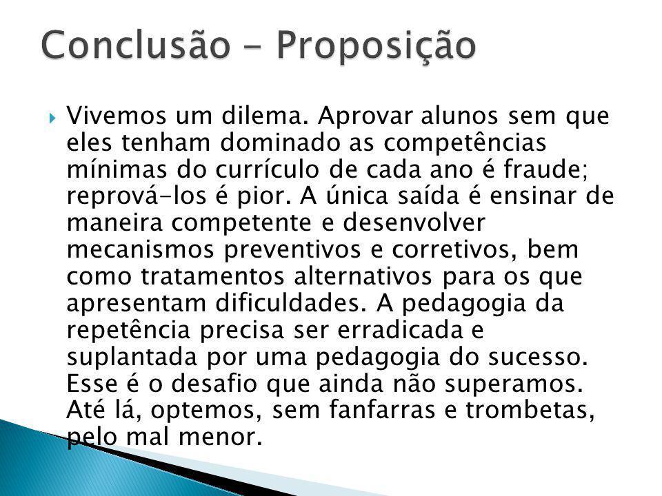 Conclusão - Proposição