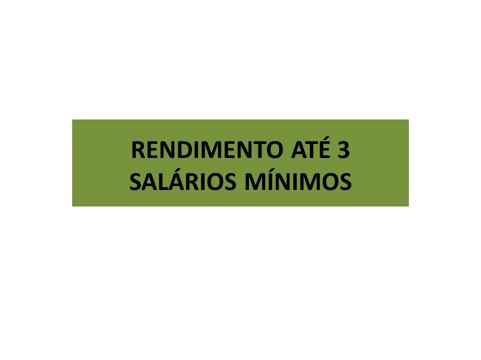 RENDIMENTO ATÉ 3 SALÁRIOS MÍNIMOS