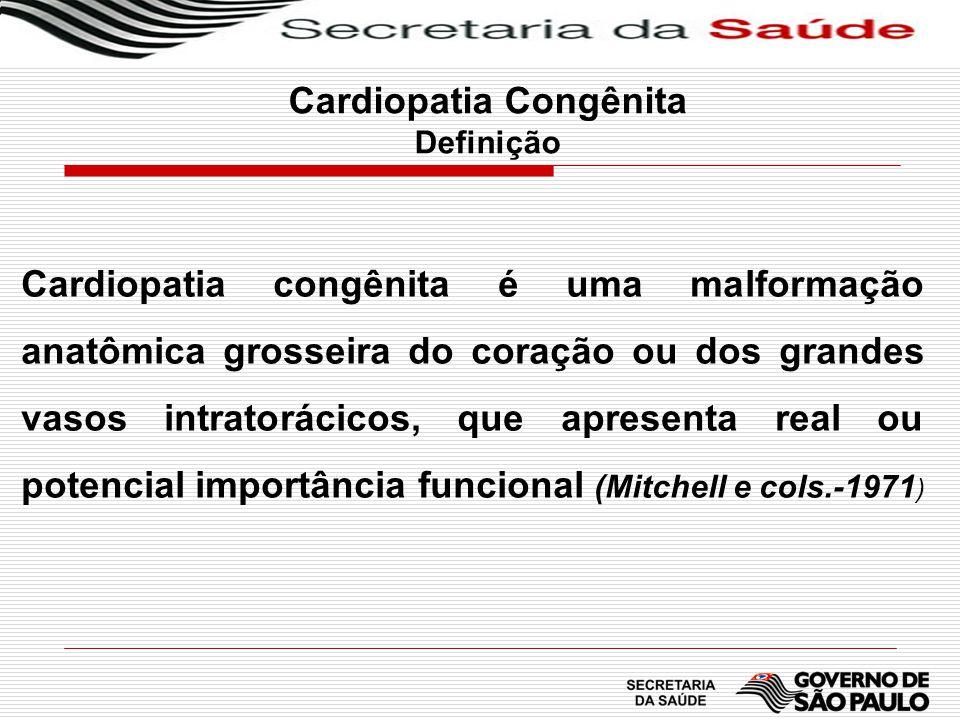 Cardiopatia Congênita Definição