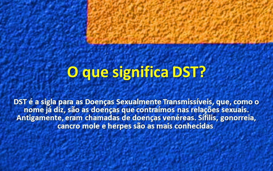 O que significa DST