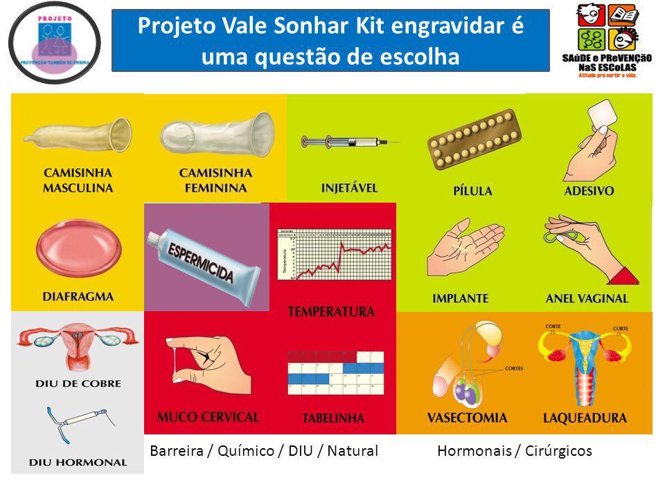 Projeto Vale Sonhar Kit engravidar é uma questão de escolha