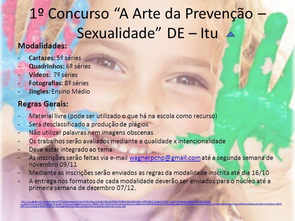 1º Concurso A Arte da Prevenção – Sexualidade DE – Itu