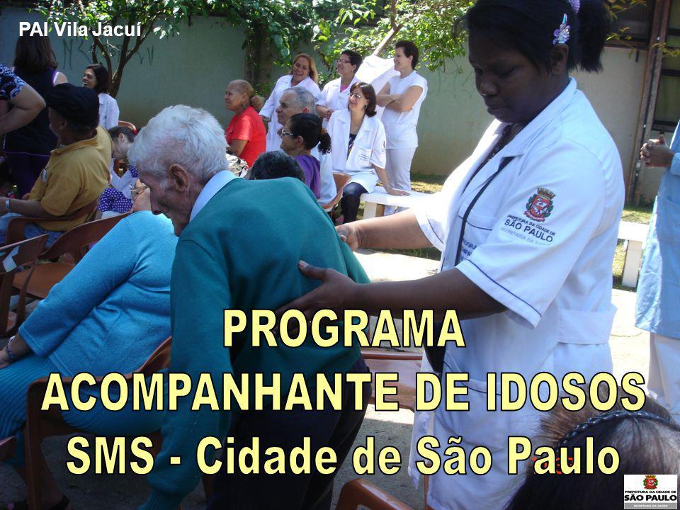 ACOMPANHANTE DE IDOSOS SMS - Cidade de São Paulo