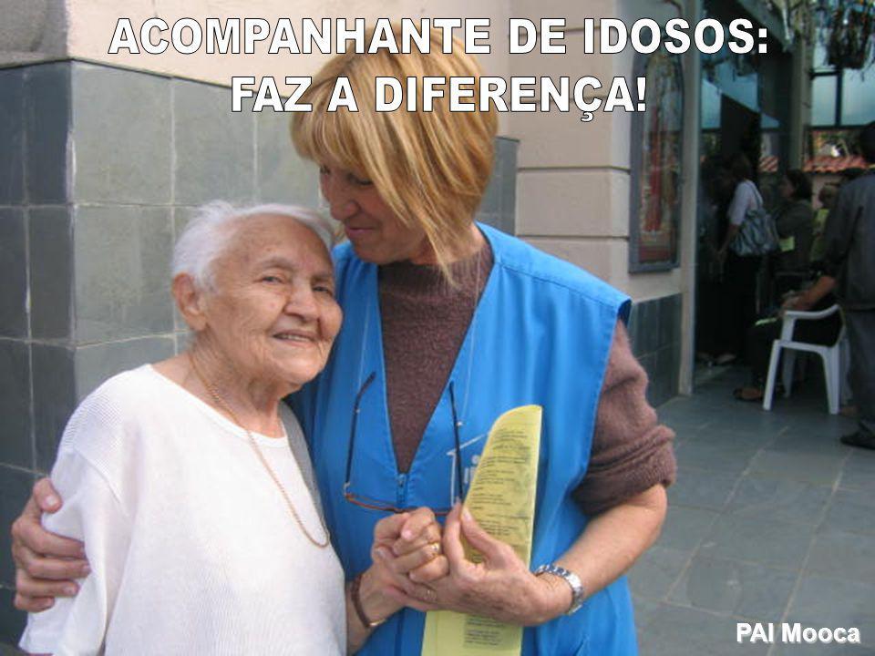 ACOMPANHANTE DE IDOSOS: