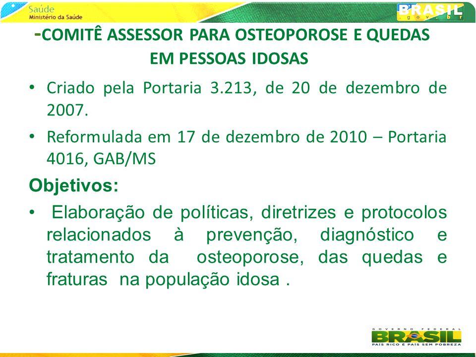 -COMITÊ ASSESSOR PARA OSTEOPOROSE E QUEDAS EM PESSOAS IDOSAS