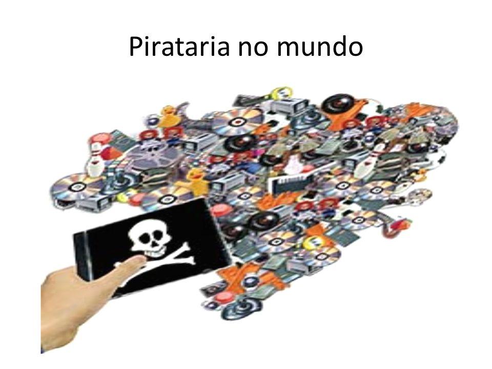 Pirataria no mundo