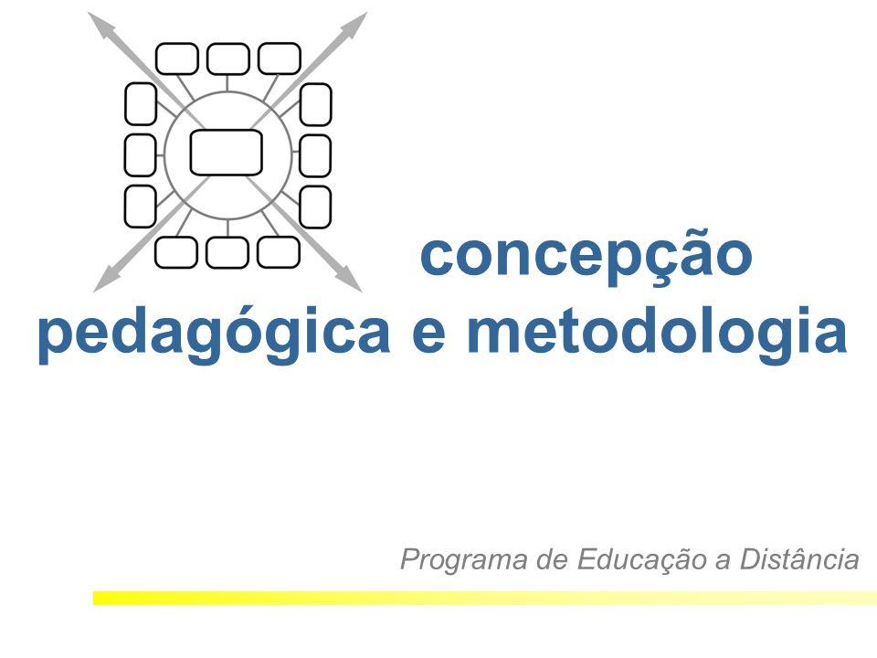 concepção pedagógica e metodologia