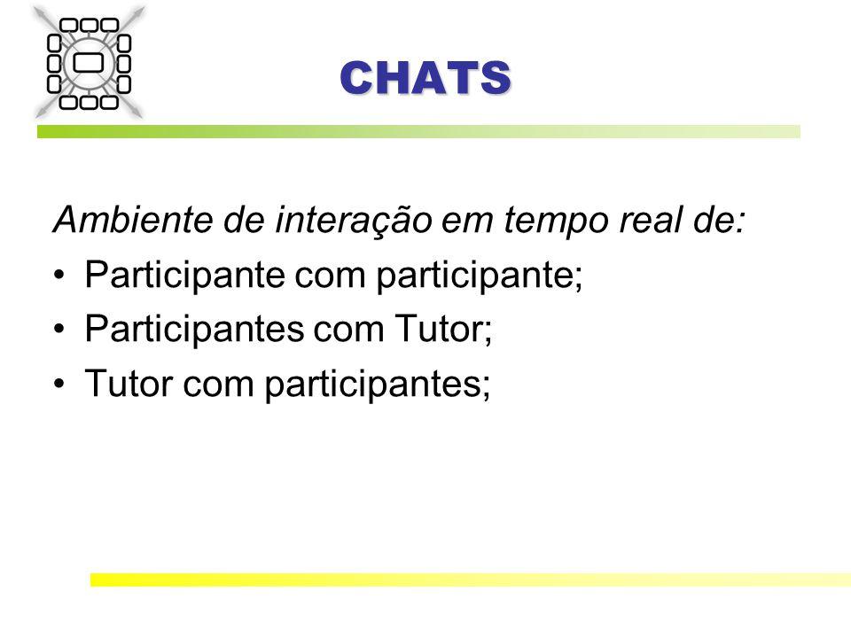 CHATS Ambiente de interação em tempo real de:
