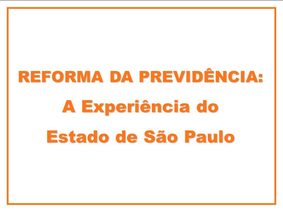 REFORMA DA PREVIDÊNCIA: