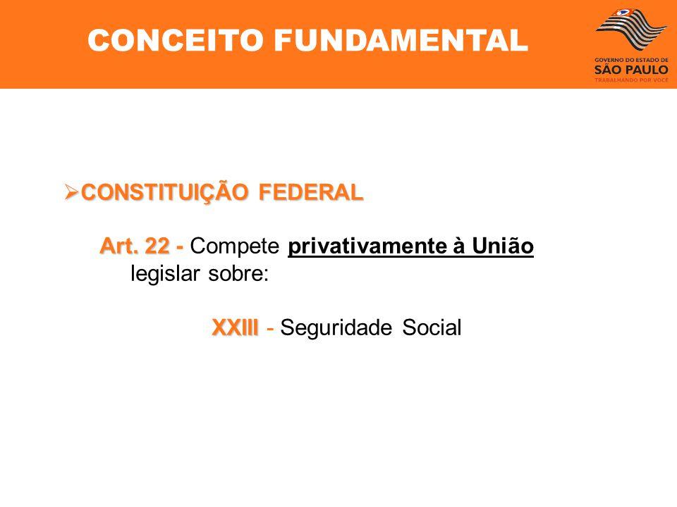 CONCEITO FUNDAMENTAL CONSTITUIÇÃO FEDERAL