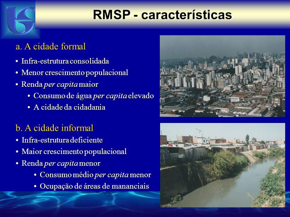 RMSP - características