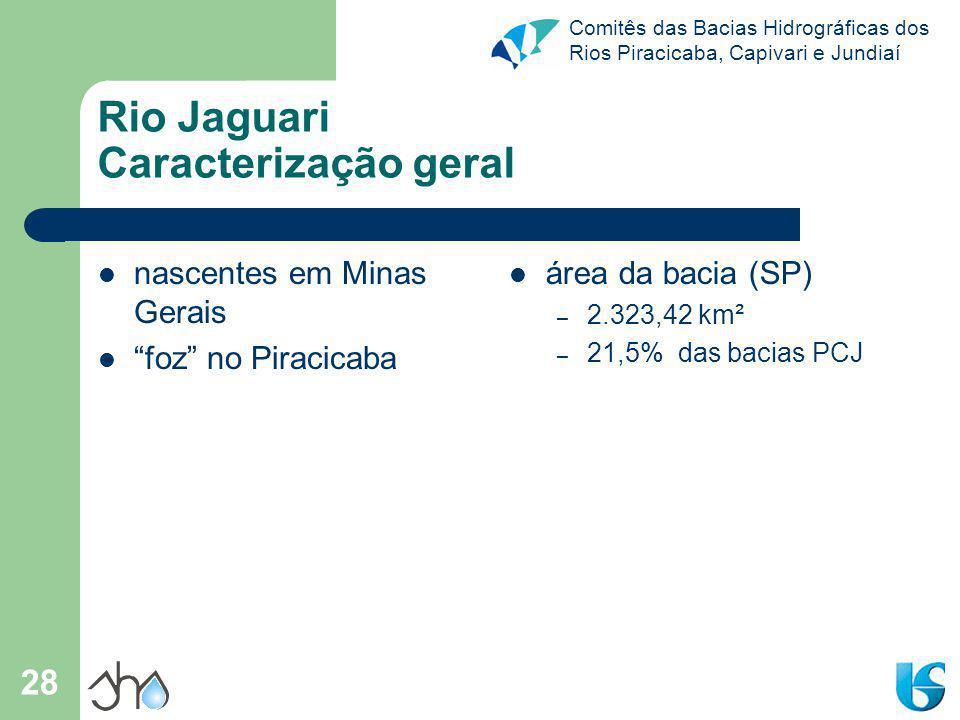 Rio Jaguari Caracterização geral