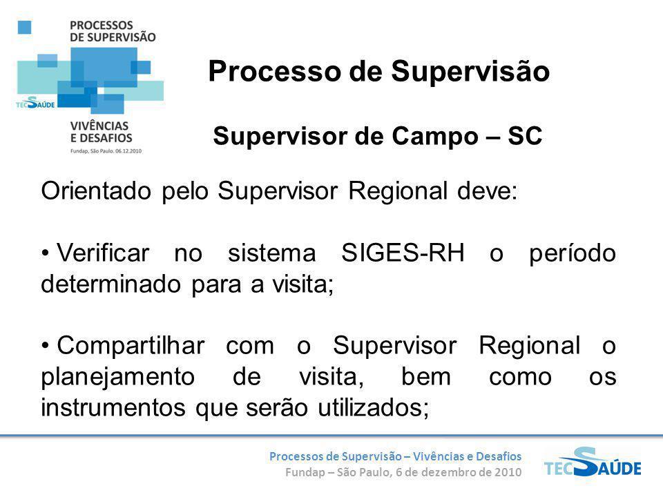 Supervisor de Campo – SC