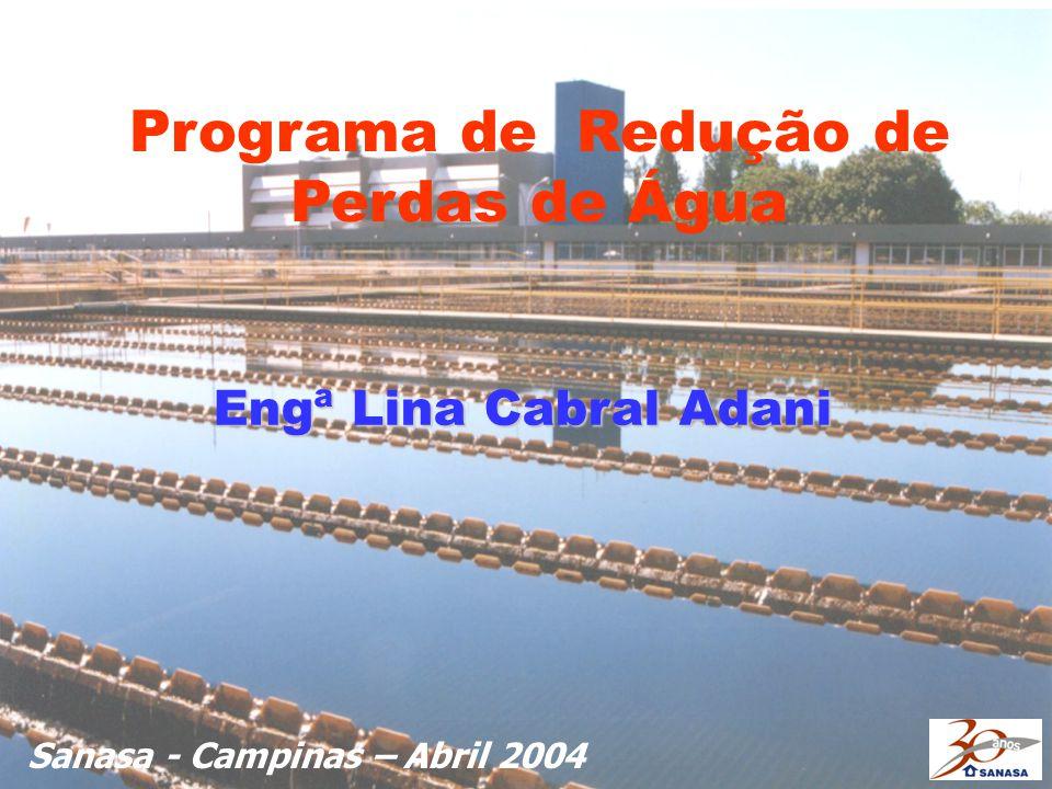 Programa de Redução de Perdas de Água