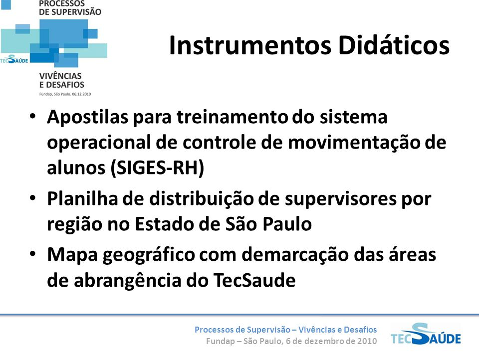 Instrumentos Didáticos