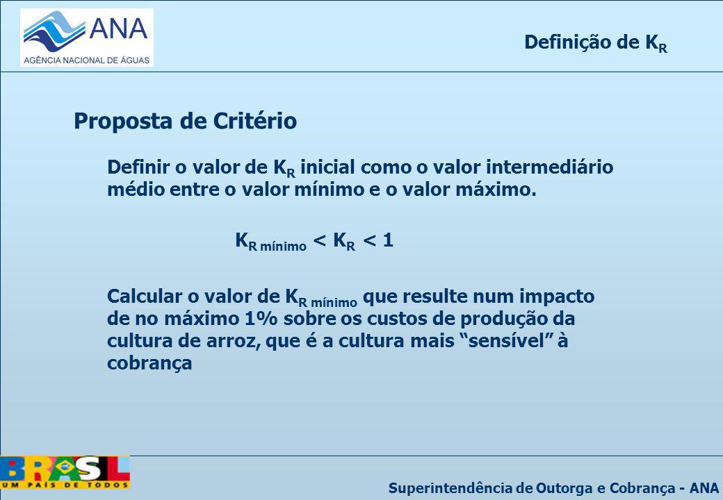 Proposta de Critério Definição de KR