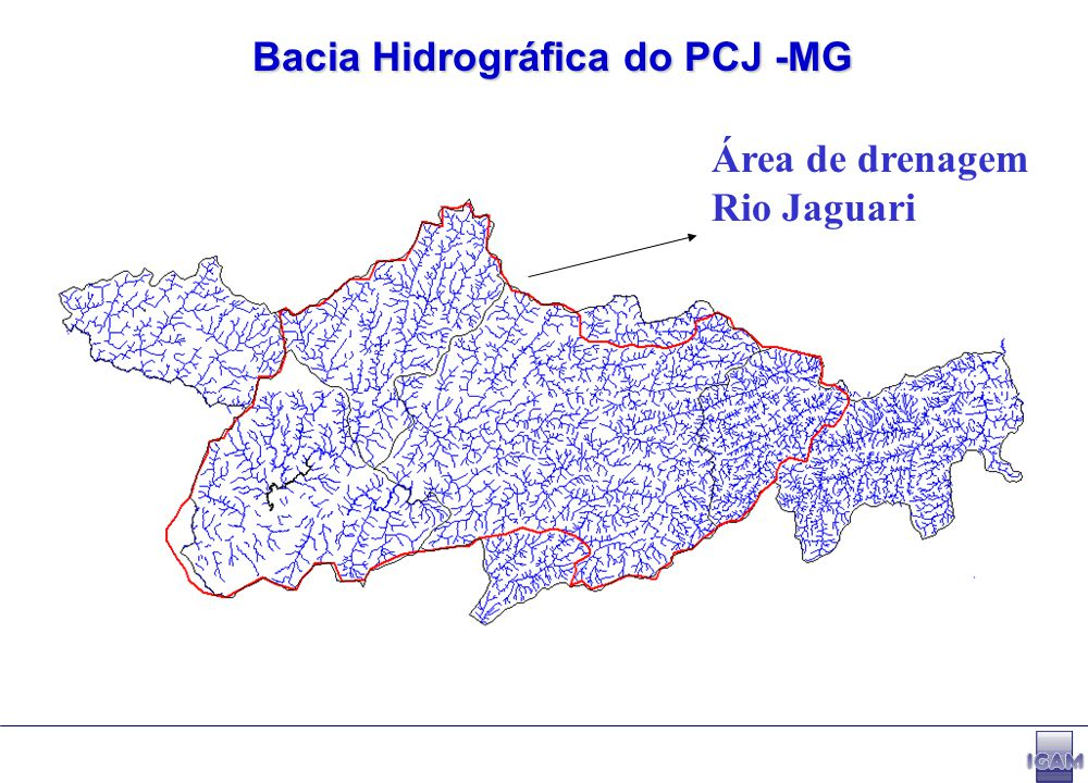 Bacia Hidrográfica do PCJ -MG